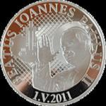 Malawi - 2011, 20 MWK - Błogosławiony Jan Paweł II - posrebrzana w sklepie internetowym Numizmatyka24.pl