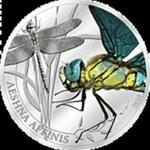 Palau - 2010, 2 dolary - Insekty - Ważka - Aeshna Affinis w sklepie internetowym Numizmatyka24.pl