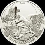 Palau - 2011, 2 dolary - Historie Biblijne - Kain i Abel w sklepie internetowym Numizmatyka24.pl
