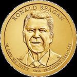 1 dolar 2016 - Ronald Reagan (P) w sklepie internetowym Numizmatyka24.pl