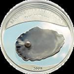 Palau - 2008, 5 dolarów - błękitna perła w sklepie internetowym Numizmatyka24.pl