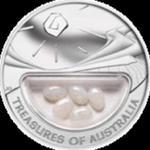 Australia - 1 dolar 2008 - Skarby Australii - Opale w sklepie internetowym Numizmatyka24.pl