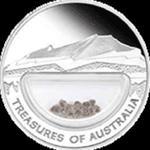 Australia - 1 dolar 2009 - Skarby Australii - DIAMENTY w sklepie internetowym Numizmatyka24.pl