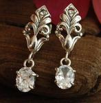 DARCY - srebrne kolczyki z kryształem Swarovskiego w sklepie internetowym Topsilver.pl