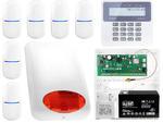 ZESTAW ALARMOWY: Płyta główna Perfecta 16 + Manipulator PRF-LCD + 6x Czujnik ruchu + Akcesoria w sklepie internetowym ivel.pl