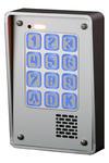 Domofon jednorodzinny z szyfratorem RADBIT KEC-1P GD36 NT MINI w sklepie internetowym ivel.pl