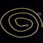Złoty łańcuszek pancerka męski 50cm 2,4mm 333 w sklepie internetowym Bestsilver.pl