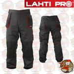 LPSR profesjonalne spodnie robocze do pasa 267 gram LahtiPro w rozmiarze L(52) w sklepie internetowym Pajm.pl