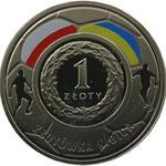 1 zł, złotówka kibica, Mistrzostwa Europy w Piłce Nożnej 2012 w sklepie internetowym enumizmatyczny.pl