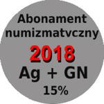Abonament numizmatyczny 2018 - monety srebrne + 5 zł z marĹźÄ 15% w sklepie internetowym enumizmatyczny.pl