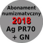 Abonament numizmatyczny 2017 na monety srebrne w gradingu PR70 w sklepie internetowym enumizmatyczny.pl