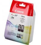 Zestaw tuszy Canon PG-510 / CL-511 Czarny / Kolor do drukarek (Oryginalny) [2x9ml] w sklepie internetowym Profibiuro.pl