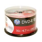 Płyty HP DVD-R 4.7GB x16 - Szpindel - 50szt. w sklepie internetowym Profibiuro.pl