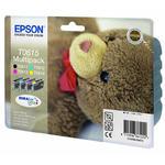 Zestaw Tuszy Epson T0615 CMYK do drukarek (Oryginalny) [4x8ml] w sklepie internetowym Profibiuro.pl
