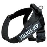 Czarne szelki dla większych psów - marka Julius K9 w sklepie internetowym EasyPet.pl