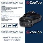 ZooTop T-900 elektryczna obroża antyszczekowa dla psa w sklepie internetowym EasyPet.pl
