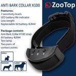 ZooTop X100 Elektryczna obroża antyszczekowa dla psa w sklepie internetowym EasyPet.pl