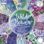 Zestaw papierów do scrapbookingu: Wild Flower, 30,5x30,5cm, 48 szt. [60-633-000] w sklepie internetowym KreatywnySwiat.pl