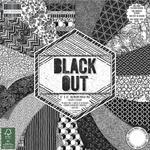 Zestaw papierów do scrapbookingu, Black Out, 48 szt. [60-635-000] w sklepie internetowym KreatywnySwiat.pl