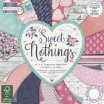 Zestaw papierów do scrapbookingu: Sweet Nothings, 15,2 x 15,2 cm, 64 szt. [60-640-000] w sklepie internetowym KreatywnySwiat.pl