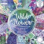 Zestaw papierów do scrapbookingu: Wild Flower, 15,2x15,2 cm, 64 szt. [60-641-000] w sklepie internetowym KreatywnySwiat.pl