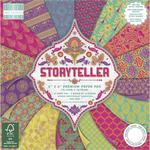 Zestaw papierów do scrapbookingu, Storyteller, 15x15 cm, 64 szt. [60-642-000] w sklepie internetowym KreatywnySwiat.pl