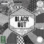 Zestaw papierów do scrapbookingu, Black Out, 15x15 cm, 64 szt. [60-643-000] w sklepie internetowym KreatywnySwiat.pl