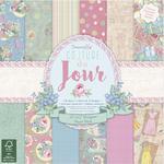 Zestaw papierów do scrapbookingu, Couture Du Jour, 36 szt. [60-652-000] w sklepie internetowym KreatywnySwiat.pl