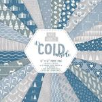 Zestaw papierów do scrapbookingu, It's Cold - zimowe, 30,5x30,5 cm, 24 szt. [60-993-000] w sklepie internetowym KreatywnySwiat.pl