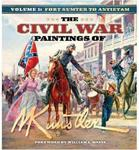 The Civil War Paintings of Mort Kunstler, Volume 1: Fort Sumter to Antietam Mort Kunstler w sklepie internetowym Ukarola.pl