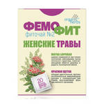 Herbata Ziołowa Femofit nr 2 (Gruszynka Jednostronna (Borowa Matka), Czerwona Szczotka (Rhadiola qudrifida), 20 Saszetek x 1,5g w sklepie internetowym Ukraina Shop