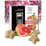Zestaw do Aromaterapii Drzewo Różane i Grejpfrut, Olejek i Gwiazdki Ceramiczne w sklepie internetowym Ukraina Shop