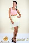 CM0300 Zwiewna cieniowana sukienka pasek gratis - model 8 w sklepie internetowym Cudmoda