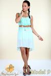 CM0300 Zwiewna cieniowana sukienka pasek gratis - model 9 w sklepie internetowym Cudmoda