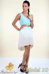 CM0300 Zwiewna cieniowana sukienka pasek gratis - model 10 w sklepie internetowym Cudmoda