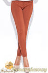 CM0511 KATRUS K044 Spodnie damskie rurki dopasowane do figury - pomarańczowe w sklepie internetowym Cudmoda