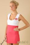 CM0095 Tunika sukienka mini + przypinka gratis w sklepie internetowym Cudmoda