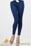 CM0685 Jeansowe legginsy spodnie rurki - jeansowe w sklepie internetowym Cudmoda