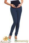 CM0729 Ciążowe jeansowe legginsy spodnie z elastycznym pasem - jeansowe w sklepie internetowym Cudmoda