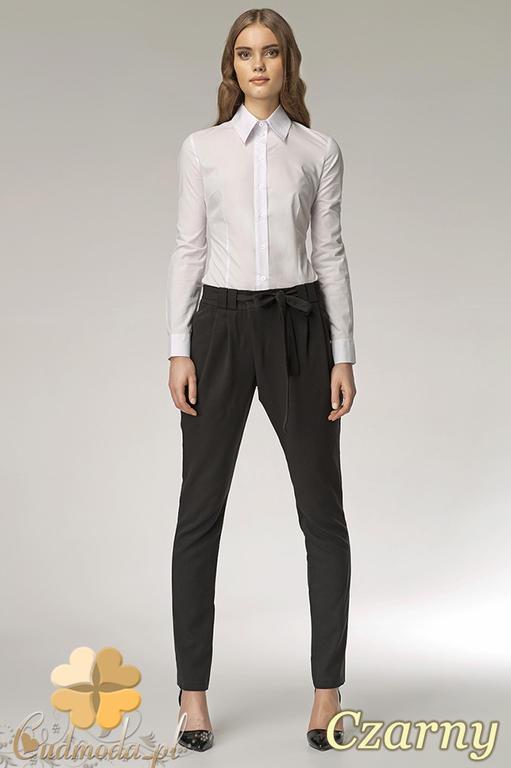 2431ec4d73a7ae CM0524 NIFE SD03 Spodnie pumpy alladynki wiązany pasek - czarne -20% w  sklepie internetowym. Powiększ zdjęcie