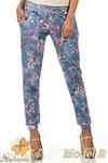 CM0812 Spodnie damskie ze ściągaczami - limitowana kolekcja - model 2 w sklepie internetowym Cudmoda