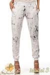CM0812 Spodnie damskie ze ściągaczami - limitowana kolekcja - model 3 w sklepie internetowym Cudmoda