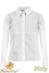 MA072 Dziecięca bluzka z długim rękawem i koronkowymi wstawkami w sklepie internetowym Cudmoda