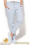 CM0955 KATRUS K163 Spodnie damskie biodrówki - jeansowe w sklepie internetowym Cudmoda