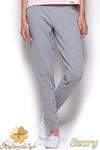 CM0961 FIGL M305 Eleganckie dresowe spodnie z kieszeniami - szare w sklepie internetowym Cudmoda