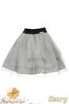MA049 Tiulowa spódniczka dziecięca baletnica - szara w sklepie internetowym Cudmoda
