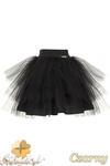 MA049 Tiulowa spódniczka dziecięca baletnica - czarna w sklepie internetowym Cudmoda