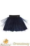 MA049 Tiulowa spódniczka dziecięca baletnica - granatowa w sklepie internetowym Cudmoda