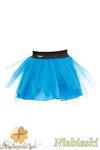 MA049 Tiulowa spódniczka dziecięca baletnica - niebieska w sklepie internetowym Cudmoda