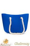 CM1607 Gumowa torebka JELLY BAG - chabrowa w sklepie internetowym Cudmoda